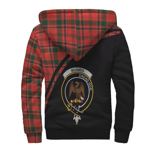 Image of Munro Tartan Hoodie (Sherpa) - Curve Version Back