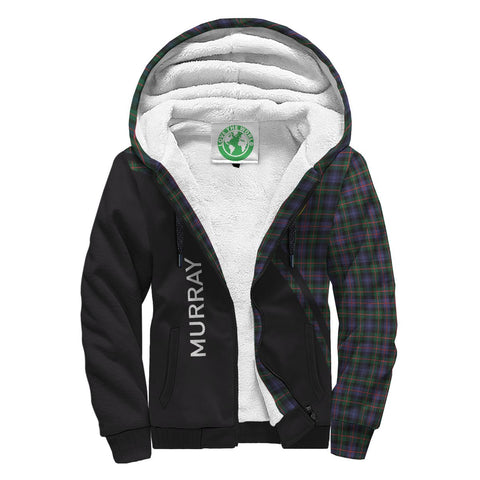 Murray Tartan Hoodie (Sherpa) - Curve Version Front