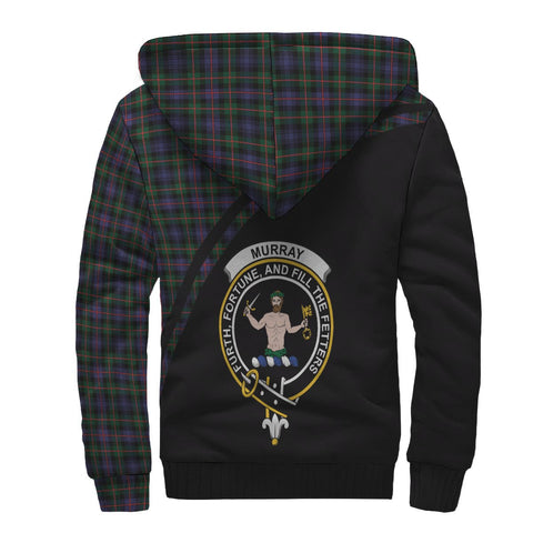Murray Tartan Hoodie (Sherpa) - Curve Version Back