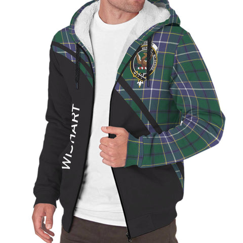 Image of Wishart Tartan Hoodie (Sherpa) - Curve Version - BN