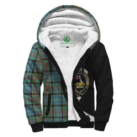 Paisley District Tartan Circle Hoodie