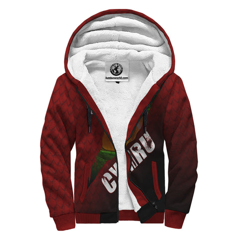 Welsh Sherpa Hoodie - Dragon Eyes | Clothing | Love The World