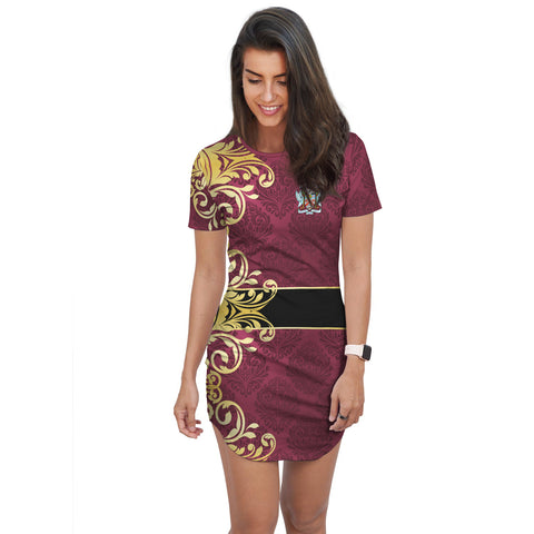 Saint Kitts and Nevis T-Shirt Dress | Clothing | Apparel