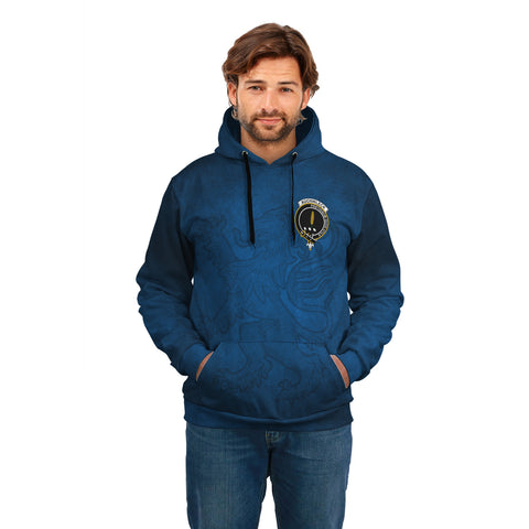 Image of Auchinleck or Affleck Crest Scotland Hoodie A02