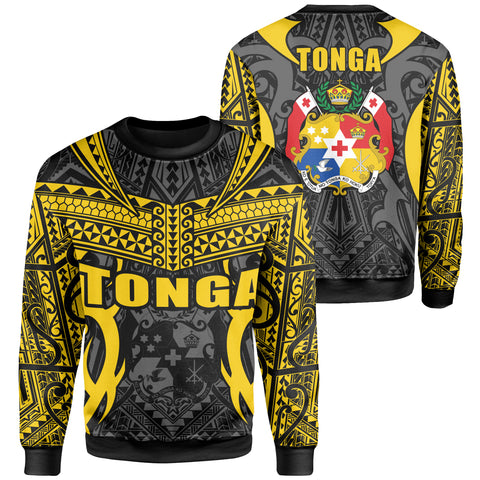 Tonga Sweatshirt - Kingdom of Tonga Black Gold J0