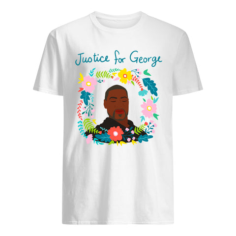 George Floyd Cotton T-Shirt - I Can't Breathe A7