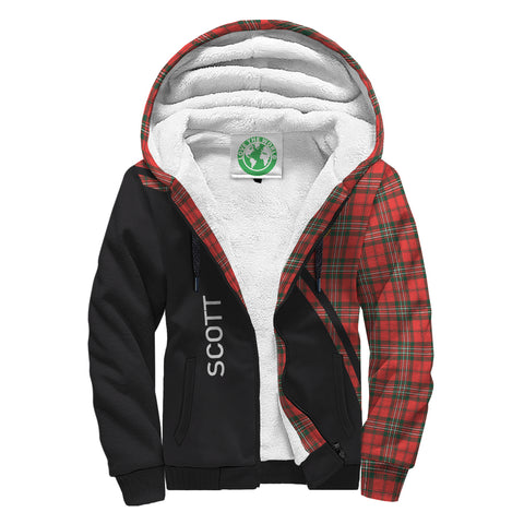 Image of Scott Tartan Hoodie (Sherpa) - Curve Version - BN04