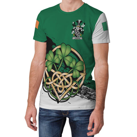 Image of Younge Ireland T-shirt Shamrock Celtic | Unisex Clothing