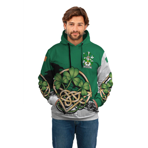Image of Murphy (Wexford) Ireland Hoodie Shamrock Celtic A02