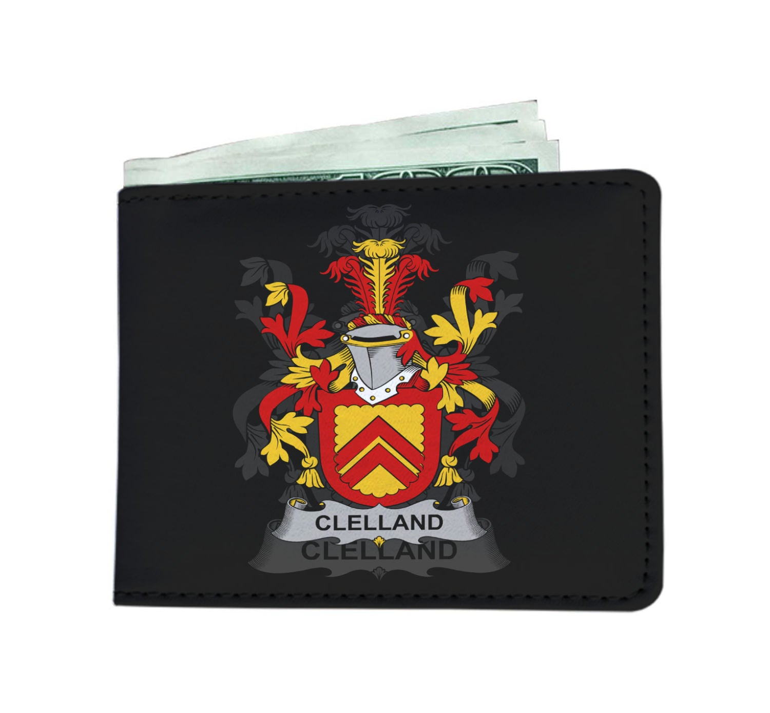 Clelland or McClelland Ireland Wallet - Irish Family | Over 1400 Irish Family Crests