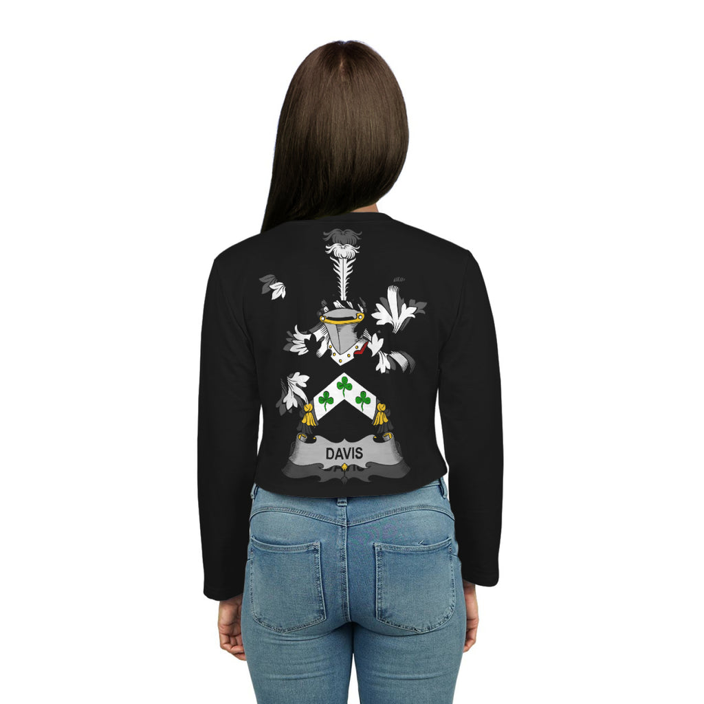 Davis Ireland Crop Long Sleeve - Irish Family | Over 1400 ...