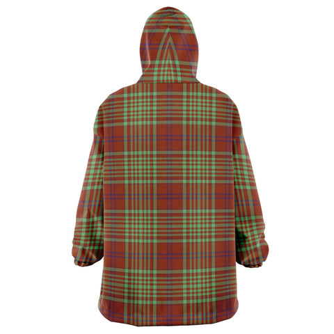 MacGillivray Hunting Ancient Snug Hoodie - Unisex Tartan Plaid Back
