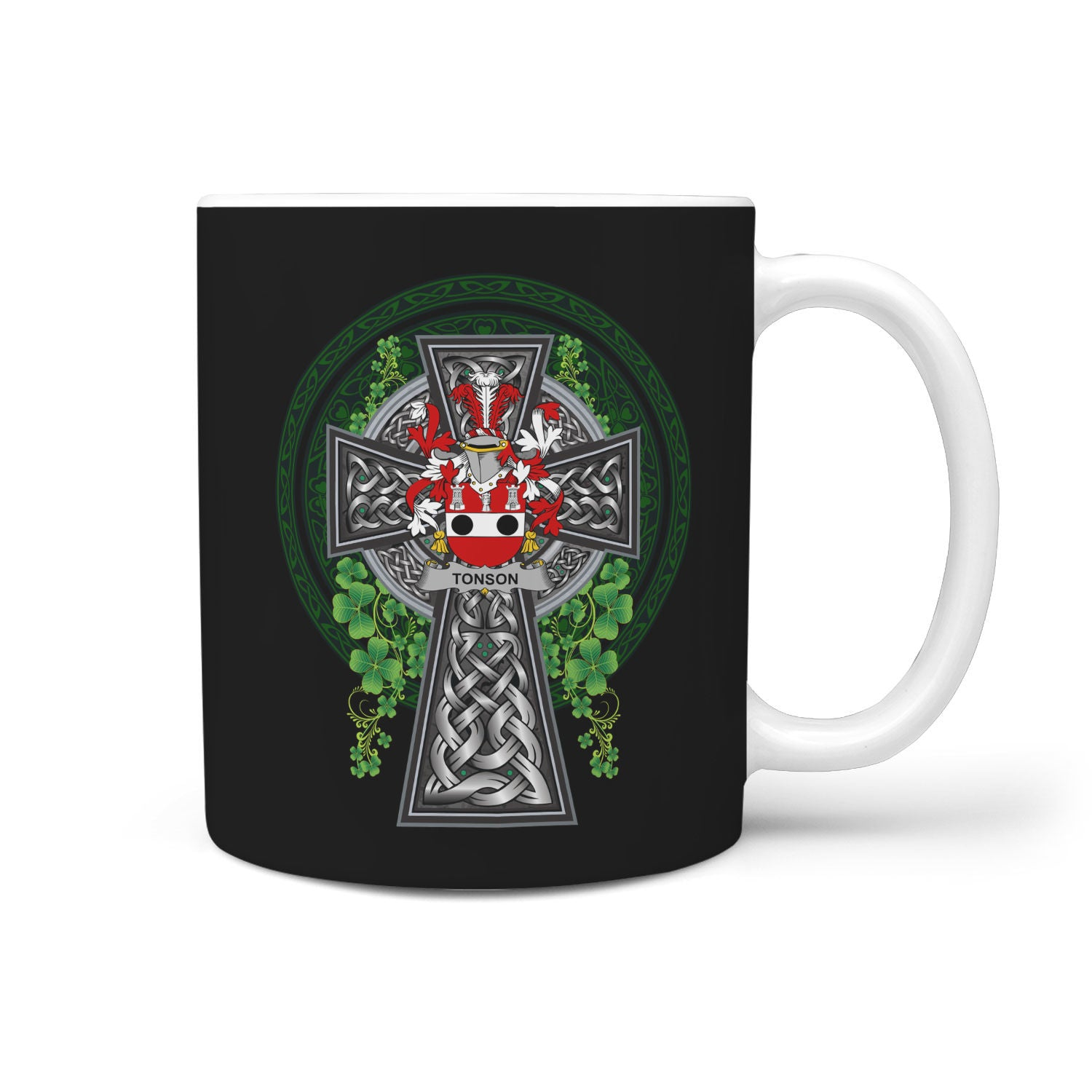 Tonson Ireland Mug Irish Legend - Irish Family Crest | Over 1400 Crest | Accessories | 1sttheworld