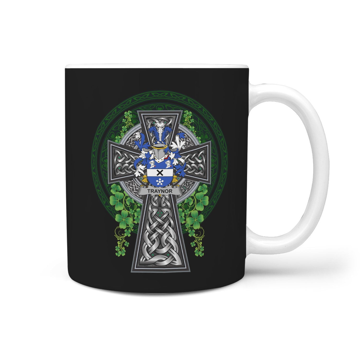 Traynor or Trainer Ireland Mug Irish Legend - Irish Family Crest | Over 1400 Crest | Accessories | 1sttheworld