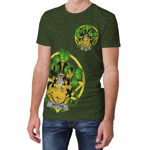 Wotton Ireland T-Shirt Celtic and Shamrock | Over 1400 Crests | Clothing | Apparel