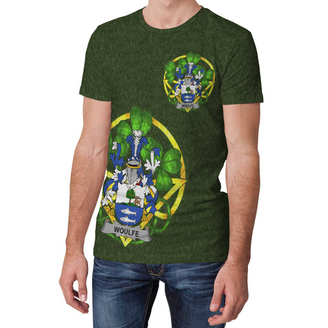 Woulfe Ireland T-Shirt Celtic and Shamrock | Over 1400 Crests | Clothing | Apparel