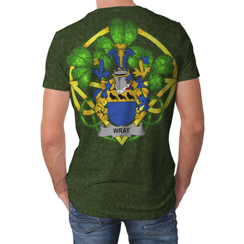 Wray Ireland T-Shirt Celtic and Shamrock | Over 1400 Crests | Clothing | Apparel