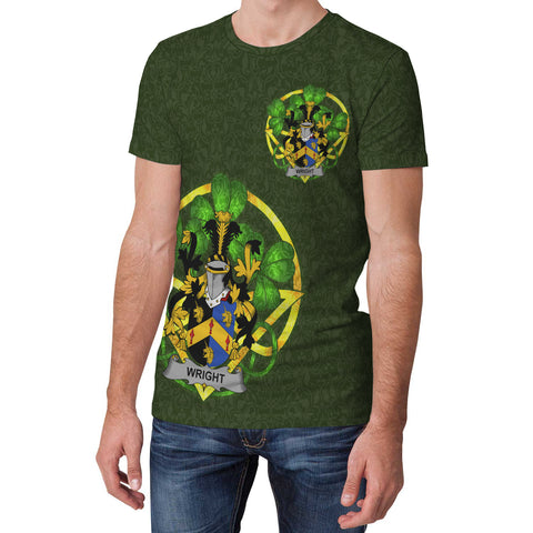 Wright Ireland T-Shirt Celtic and Shamrock | Over 1400 Crests | Clothing | Apparel