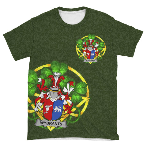 Wybrants Ireland T-Shirt Celtic and Shamrock | Over 1400 Crests | Clothing | Apparel