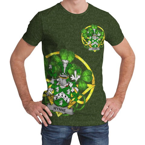 Wynne Ireland T-Shirt Celtic and Shamrock | Over 1400 Crests | Clothing | Apparel