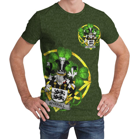 Wyrrall Ireland T-Shirt Celtic and Shamrock | Over 1400 Crests | Clothing | Apparel