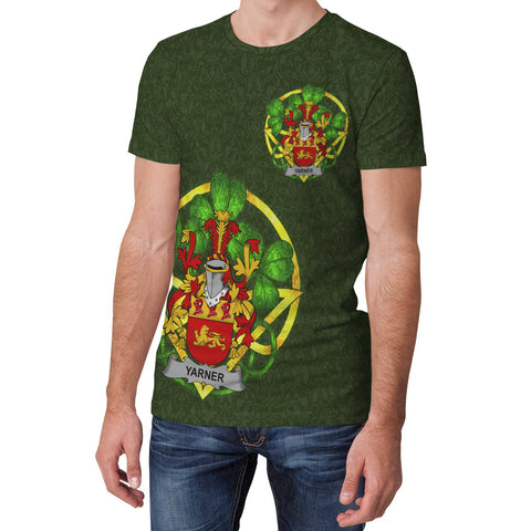 Yarner Ireland T-Shirt Celtic and Shamrock | Over 1400 Crests | Clothing | Apparel