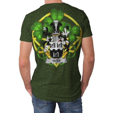 Yeates Ireland T-Shirt Celtic and Shamrock | Over 1400 Crests | Clothing | Apparel