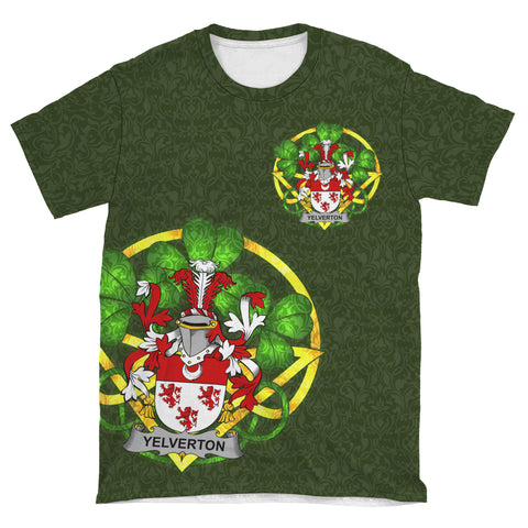 Yelverton Ireland T-Shirt Celtic and Shamrock | Over 1400 Crests | Clothing | Apparel