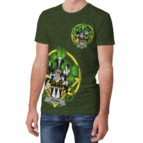Young Ireland T-Shirt Celtic and Shamrock | Over 1400 Crests | Clothing | Apparel