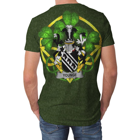 Image of Younge Ireland T-Shirt Celtic and Shamrock | Over 1400 Crests | Clothing | Apparel