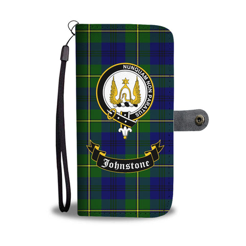 Tartan Wallet Case - Johnstone Clan A9