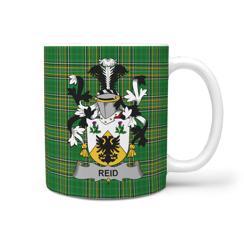 Reid Ireland Mug Irish National Tartan | Over 1400 Crests | Accessories | Highest Quality