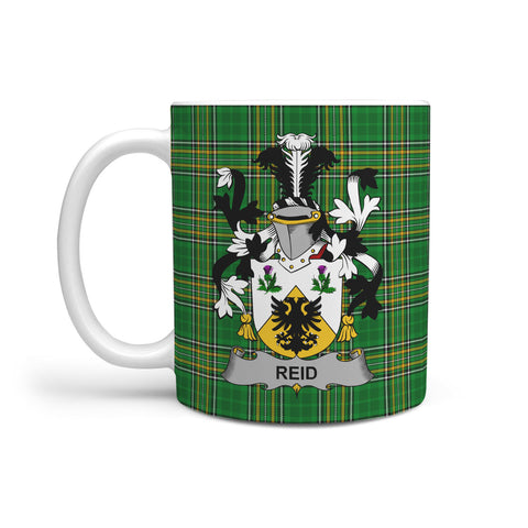 Image of Reid Ireland Mug Irish National Tartan | Over 1400 Crests | Accessories | Highest Quality