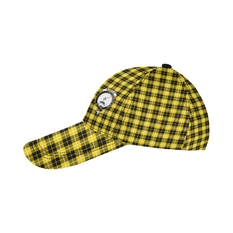 Barclay Dress Modern Clan Badge Tartan Dad Cap - BN03