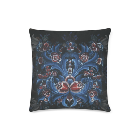 Image of Norway cover- Rosemaling pillow cover NN2