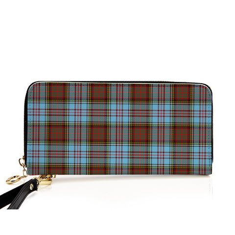 ANDERSON ANCIENT TARTAN ZIPPER WALLET HJ4