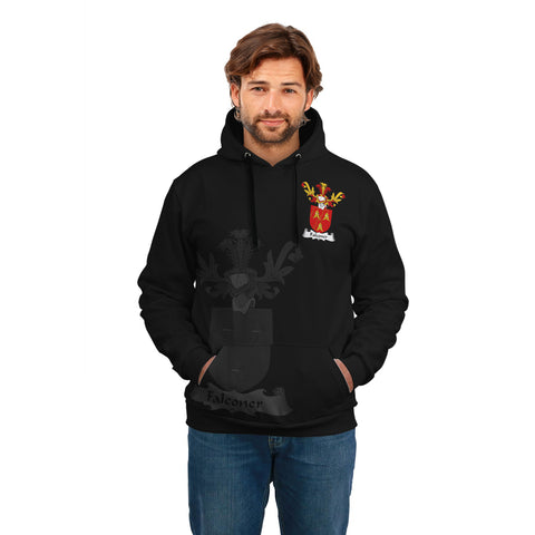 Falconer Family Crest Hoodie (Women's/Men's) | Over 1200 Crests | Clothing | Apparel