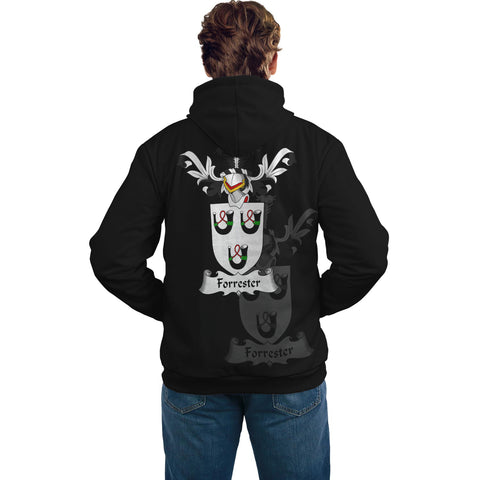 Forrester Family Crest Hoodie (Women's/Men's) | Over 1200 Crests | Clothing | Apparel