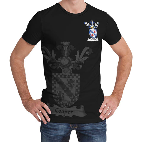 Cooper Family Crest T-Shirt (Women's/Men's) A7