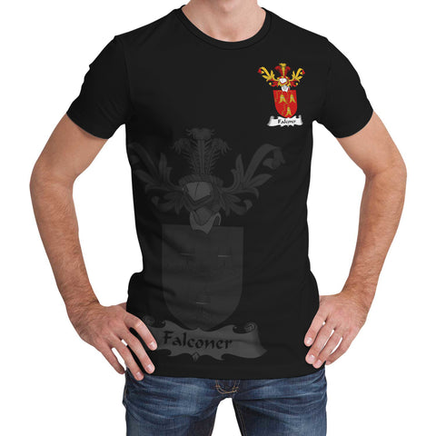 Falconer Family Crest T-Shirt (Women's/Men's) A7