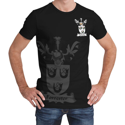Image of Forrester Family Crest T-Shirt (Women's/Men's) A7