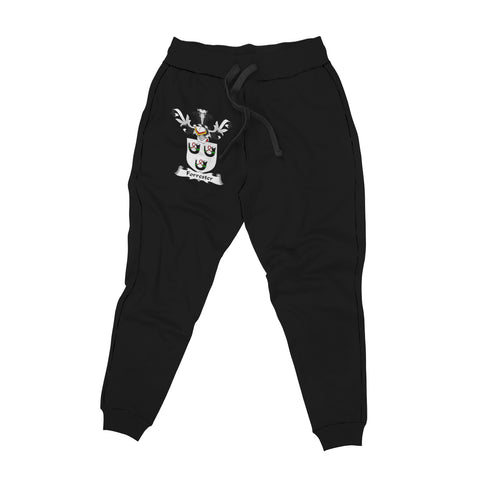 Image of Forrester Family Crest Jogger (Women's/Men's) | Over 1200 Crests | Clothing | Apparel