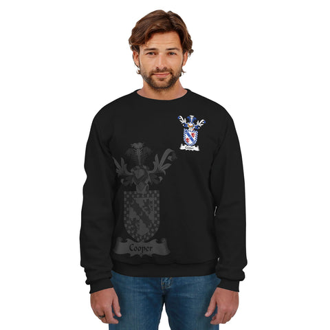 Cooper Family Crest Sweatshirt (Women's/Men's) A7