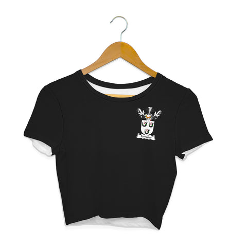 Forrester Family Crest Crop T-Shirt | Over 1200 Crests | Clothing | Apparel