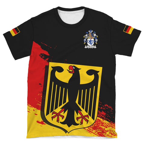 Adelmann Germany T-Shirt - German Family Crest (Women's/Men's) | Over 2000 German Crests | Clothing