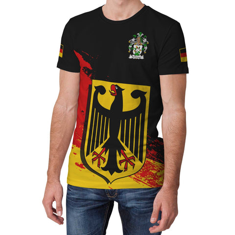 Aichberger Germany T-Shirt - German Family Crest (Women's/Men's) | Over 2000 German Crests | Clothing