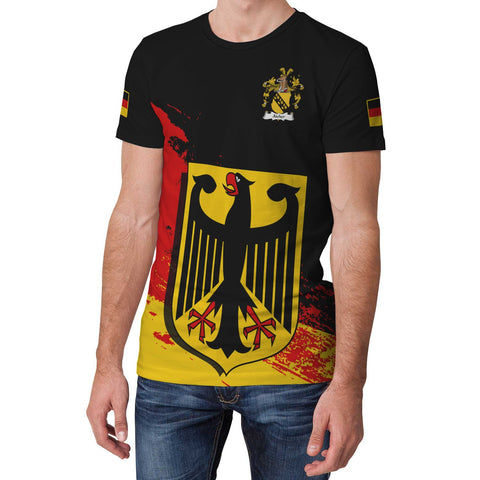 Aicher Germany T-Shirt - German Family Crest (Women's/Men's) | Over 2000 German Crests | Clothing
