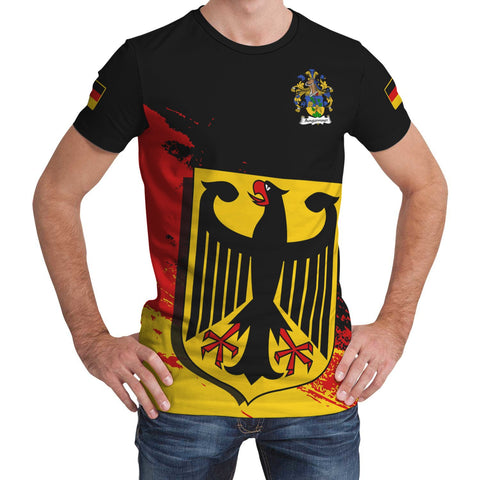 Angermayer Germany T-Shirt - German Family Crest (Women's/Men's) | Over 2000 German Crests | Clothing
