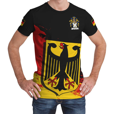 Angerstein Germany T-Shirt - German Family Crest (Women's/Men's) | Over 2000 German Crests | Clothing