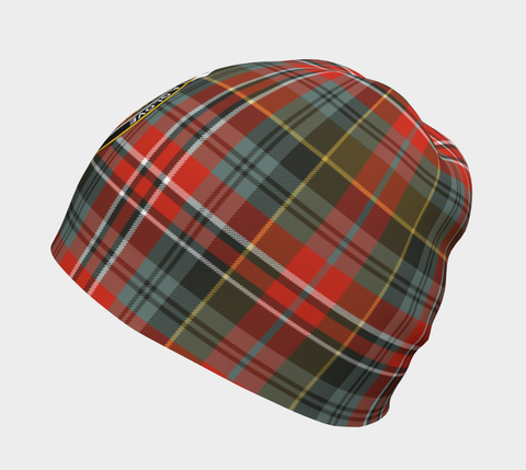 Image of MacPherson Weathered Tartan Clan Crest Beanie Hj4